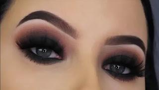 مكياج عيون دخاني