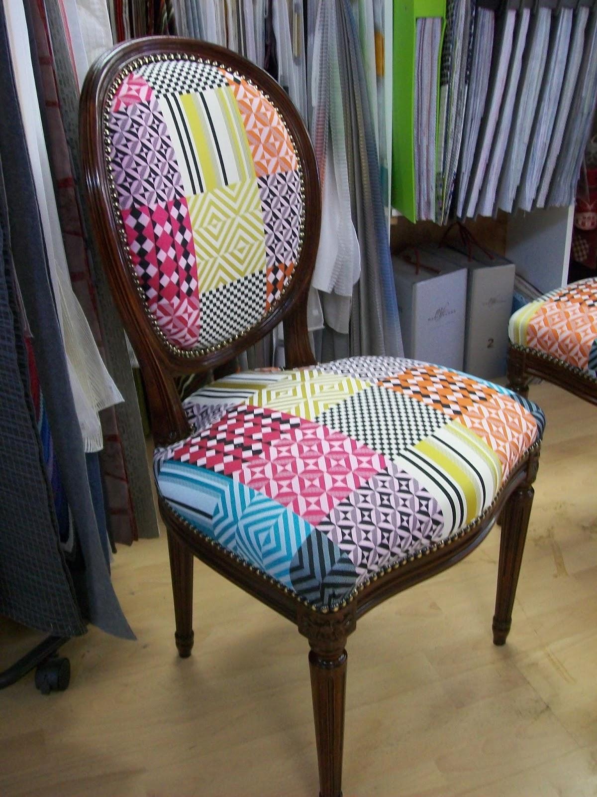 l 39 chaise dossier m daillon. Black Bedroom Furniture Sets. Home Design Ideas