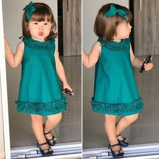 صور فساتين اطفال 2021