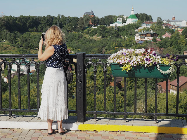 Владимир, вид со смотровой площадки (Vladimir, view from the observation deck)