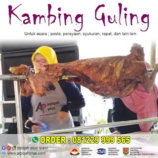 kambing guling slawi