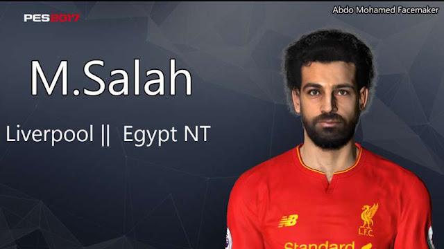 M. Salah Face PES 2017