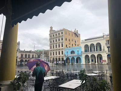 Plaza Vieja. La Habana