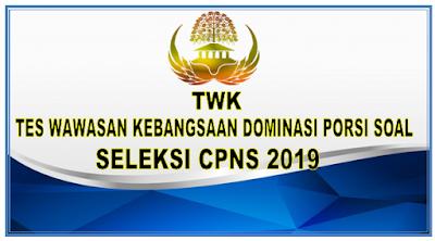 Tes Wawasan Kebangsaan Dominasi Porsi Soal Seleksi CPNS 2019