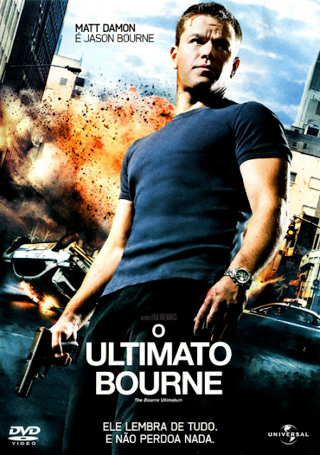O Ultimato Bourne com Matt Damon: eu vi