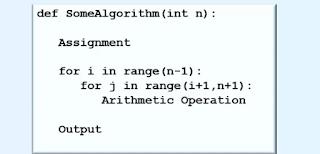 Big o asymptotic notation examples