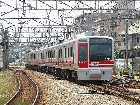 【運行終了!】9000系赤帯の特急 横浜行き