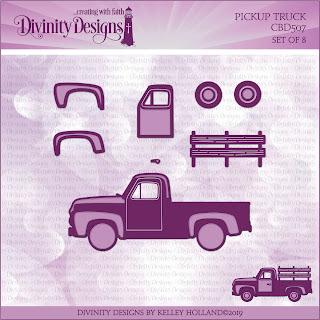 Custom Dies: Pickup Truck