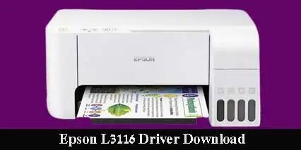 Epson EcoTank L3116 Driver Free Download 2021