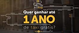 Promoção 1 Ano Táxi Grátis Easy Taxi