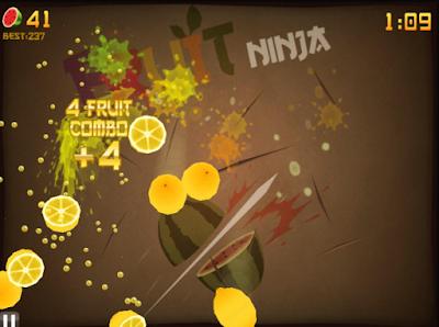 水果忍者中文電腦版(Fruit Ninja HD),風靡一時的切水果遊戲!