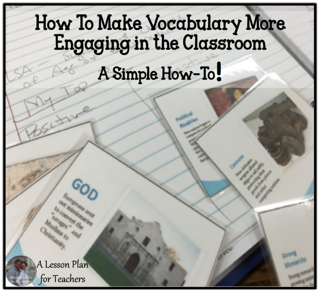 How to make vocabulary more engaging in the classroom