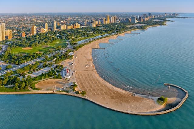 North Avenue Beach à Chicago