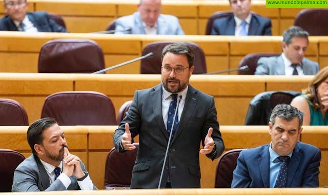 """Antona: """"No vamos a permitir que Sánchez nos quite lo que es nuestro, y siga castigando a Canarias"""""""