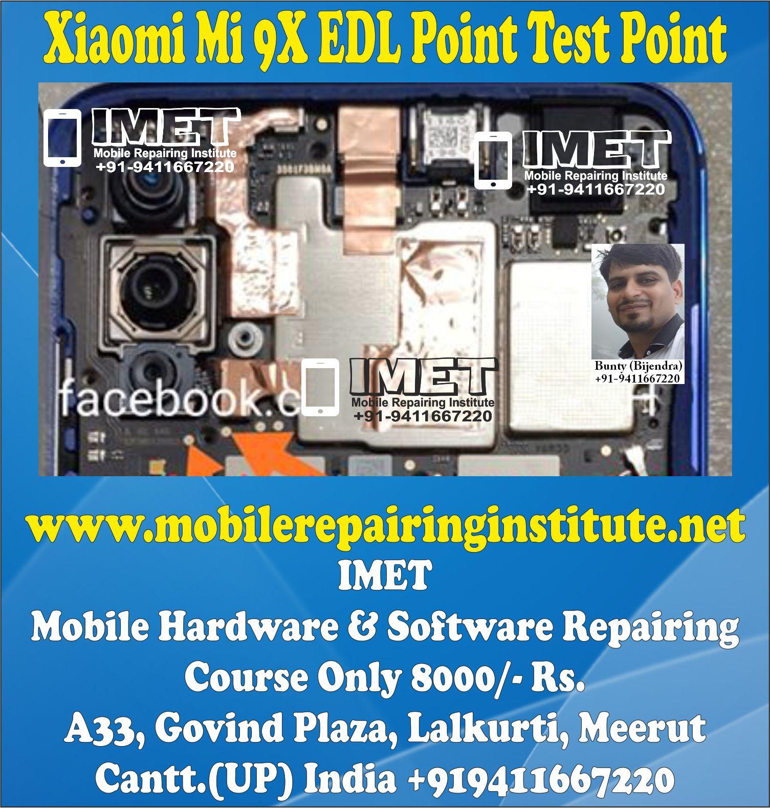 Xiaomi Mi 9X EDL Point Test Point