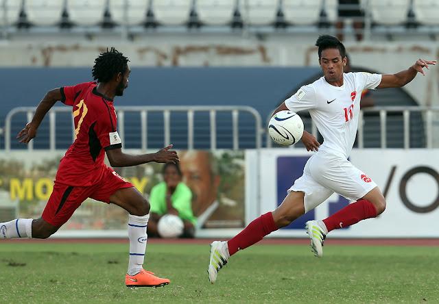 Eliminatoria Rusia 2018 Papúa Nueva Guinea 1-3 Tahití