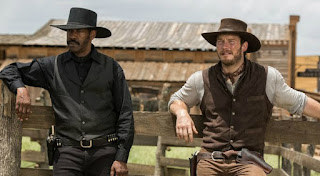 Denzel Washington and Chris Pratt in The Magnificent Seven, a review