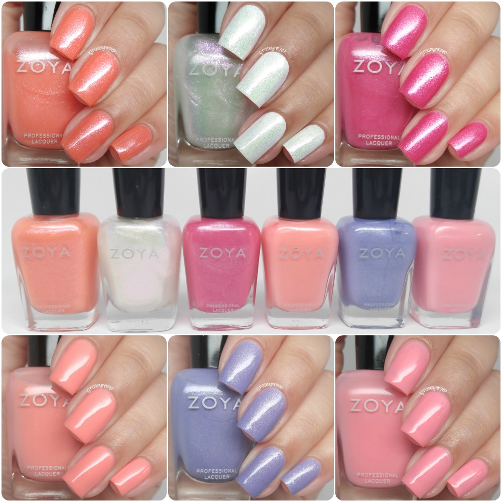 Zoya spring 2016 petals swatches review manicured marvelous the petals spring 2016 collection from zoya is now available for purchase each shade retails between 900 1000 and the entire set is available for reheart Choice Image