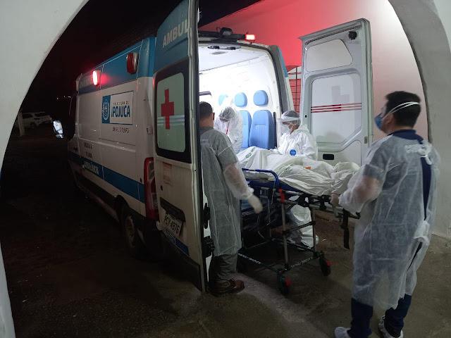 Com alta de números da Covid-19 em Escada, Hospital Regional transfere paciente e compra oxigênio as pressas