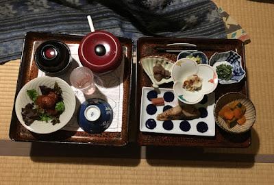 宝巌堂 夕食 1日目
