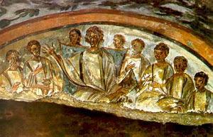Sabelio, um dos opositores a doutrina da trindade