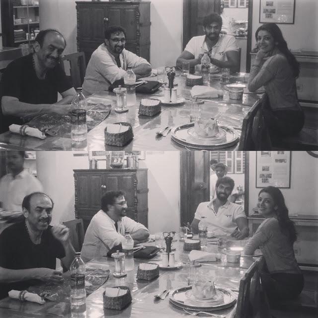 Rana, Kajal agarwal, teja, suresh babu in karaikudi