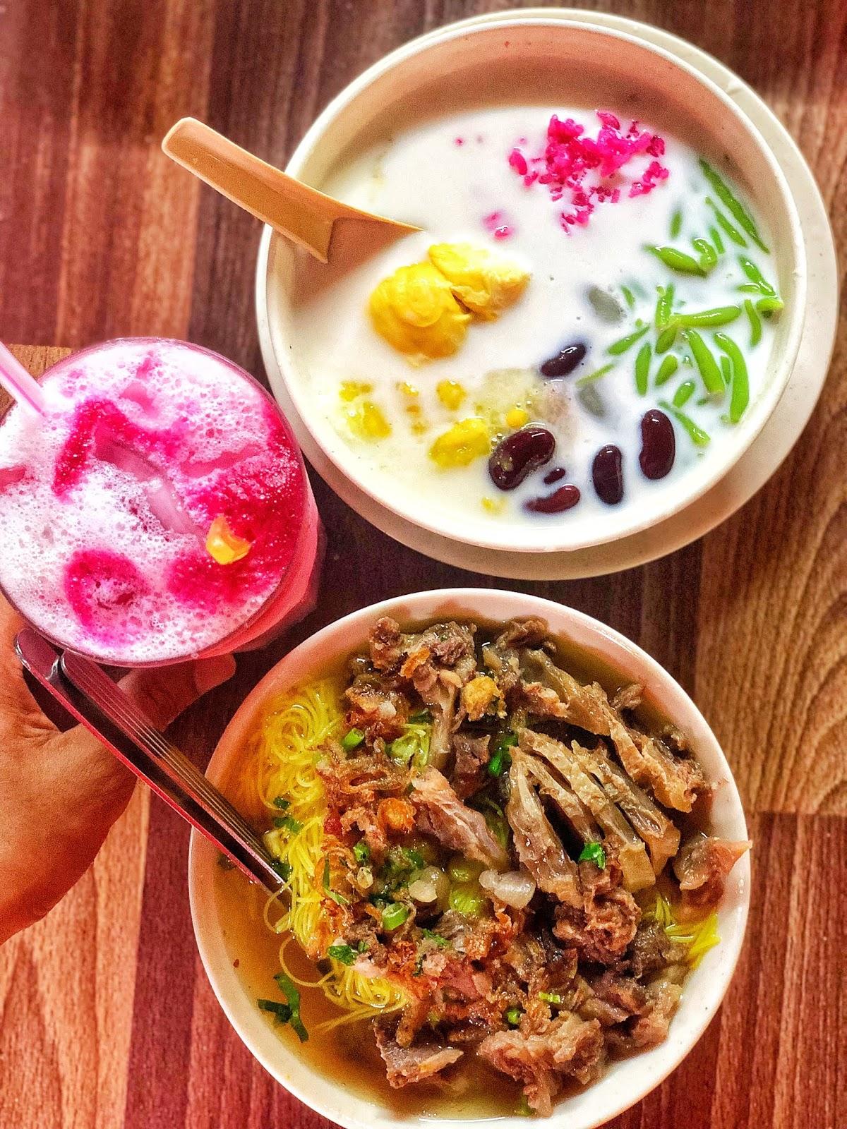 Bihun Sup & Cendol Pulut Durian Best Di Sungai Petani!
