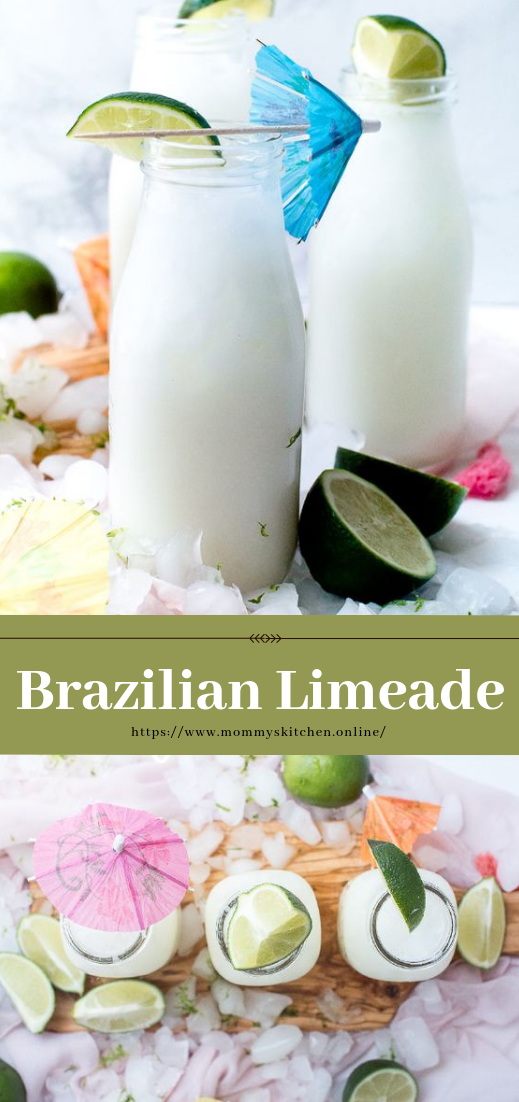 Brazilian Limeade #smoothie #recipeeasy