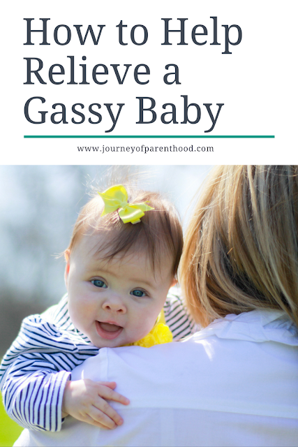 Dealing with a gassy baby? There is no nothing worse for a mom than a gassy baby! Read on for some tips to help relieve gas and get your baby comfortable.