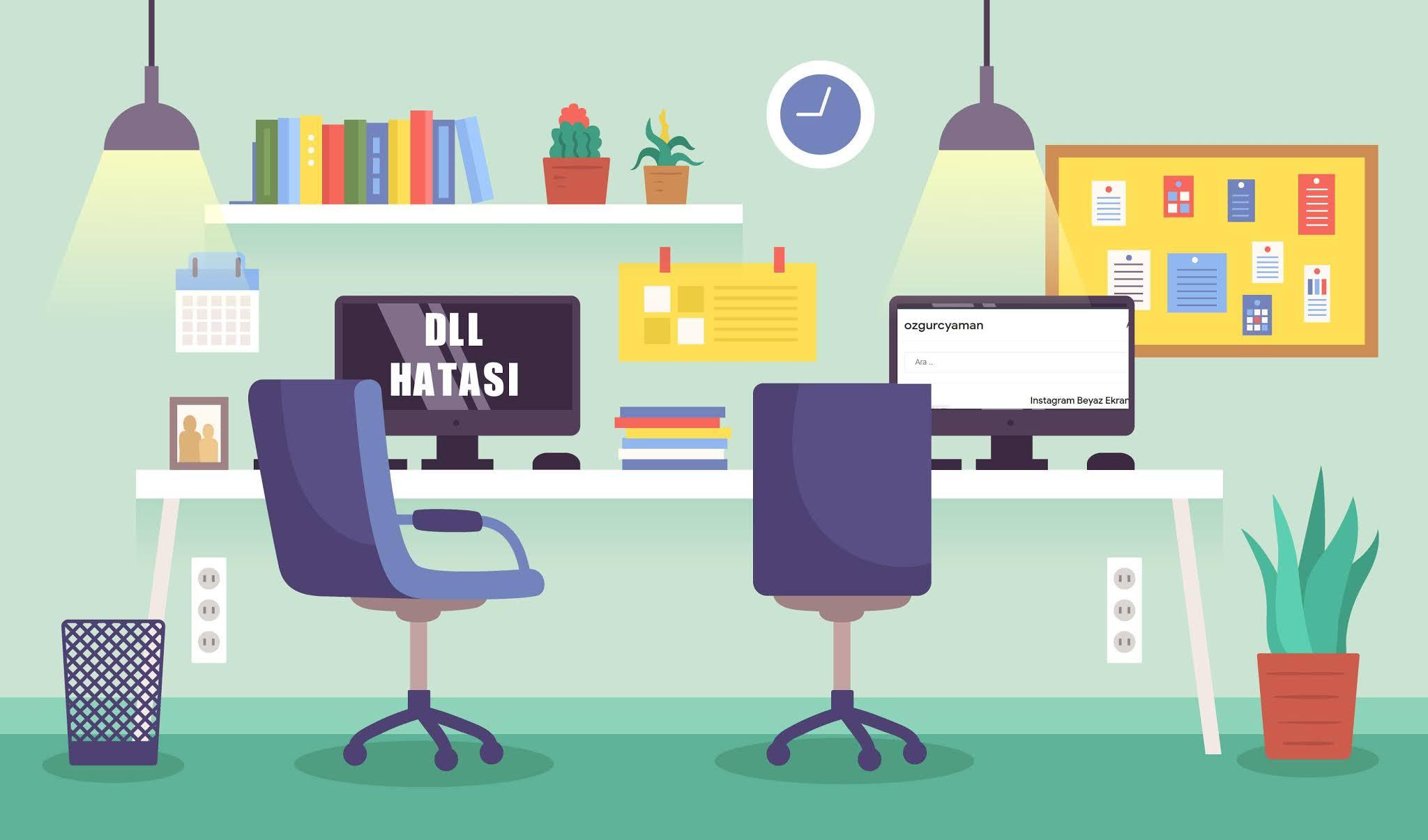 DLL Hatası Çözümü ve DLL Programı