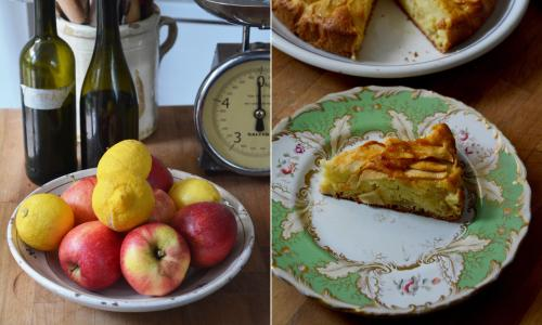 Rachel Roddy's recipe for apple and olive oil cake
