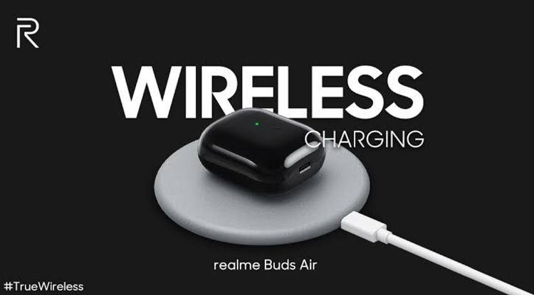 Realme Buds Air Wireless Charging
