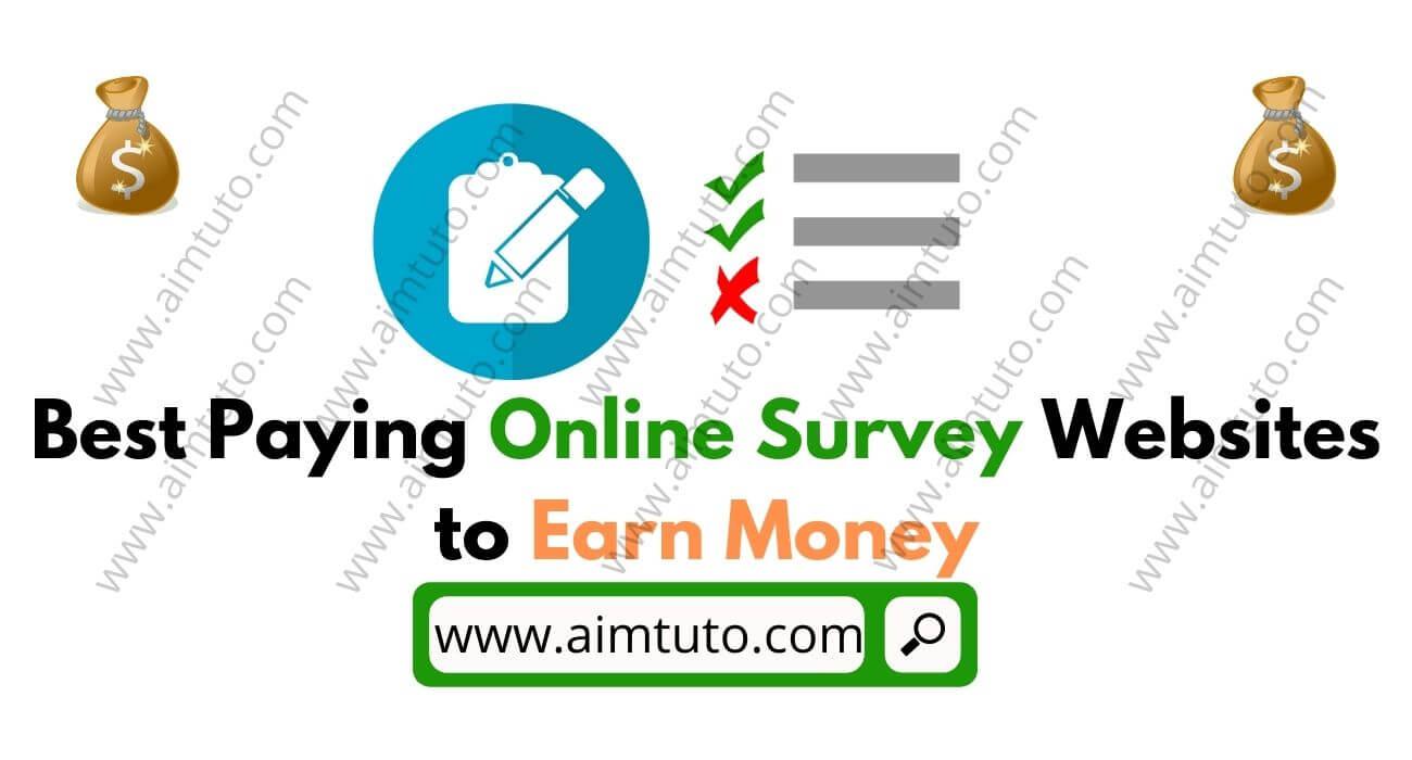 best online survey websites that pay real cash