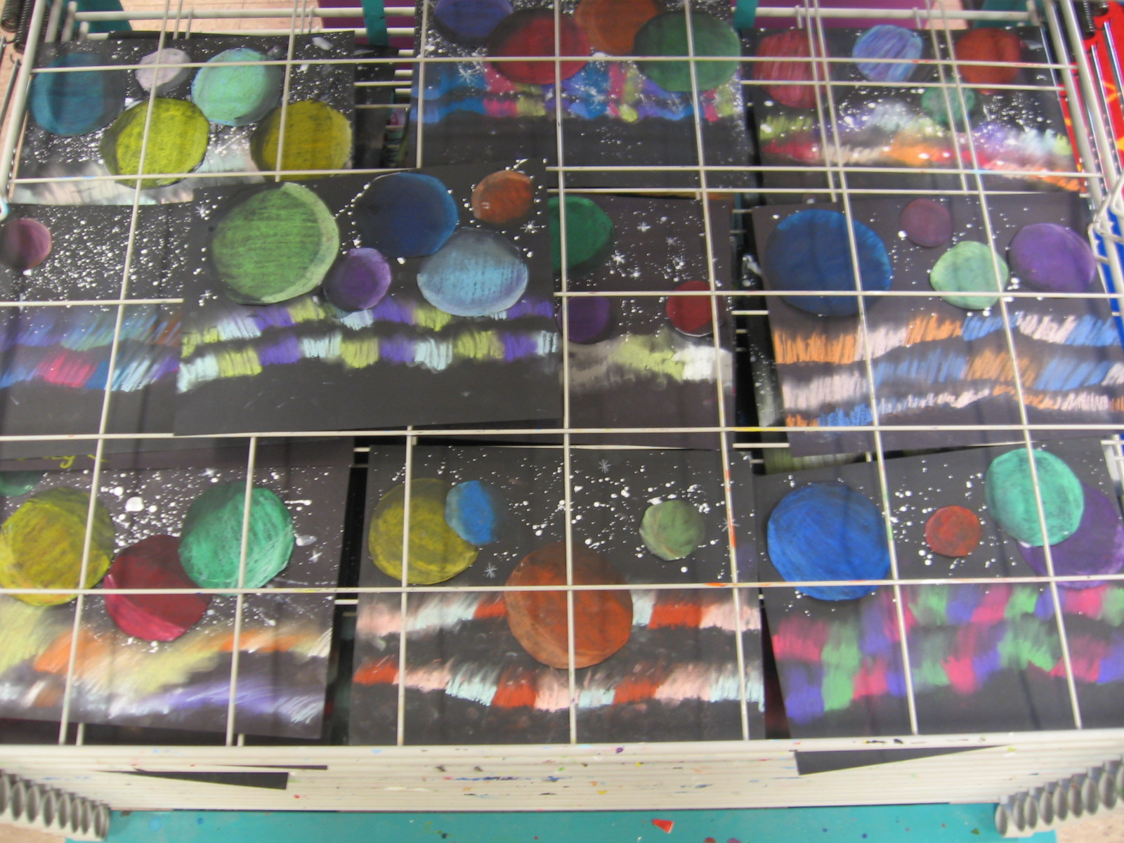 Art With Mrs Kim 5th Grade Galaxy Art