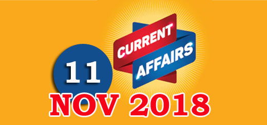 Kerala PSC Daily Malayalam Current Affairs 11 Nov 2018