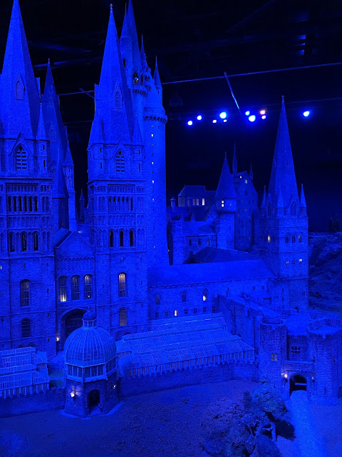 Hogwarts at night model #harrypotter Warner Bros Studio Tour UK