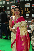 Sneha Looks Super cute in Red Silk Saree at IIFA Utsavam Awards 022.JPG