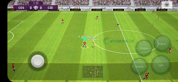 Setting PES 2021 Mobile ke Grafis Tinggi dan Frame Rate 30fps
