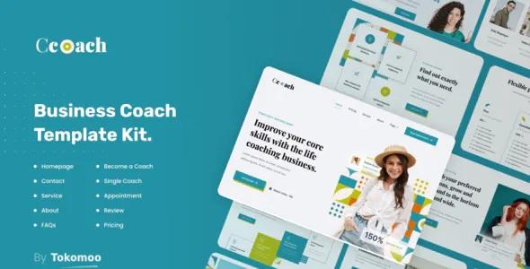 Best Business Coach Elementor Template Kit