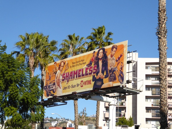 Shameless season 6 billboard