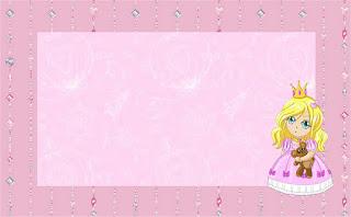 Blondie Princess, Free Printable Invitations, Labels or Cards.