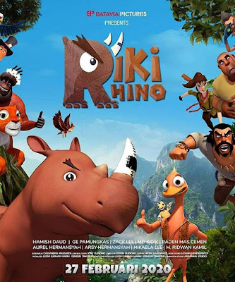 Sinopsis film Riki Rhino (2020)