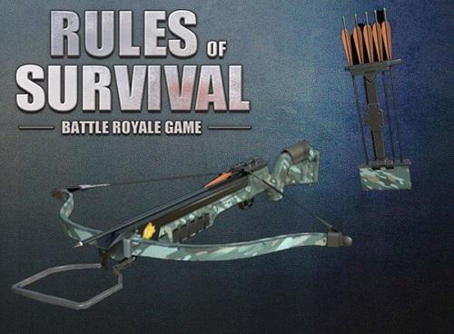 Nỏ là một trong vũ khí rất độc đáo chỉ trong Rules of Survival