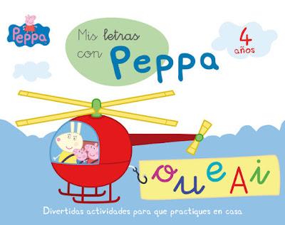 LIBRO - Mis letras con Peppa - 4 años  Aprendo con Peppa Pig  Comprar en Amazon España