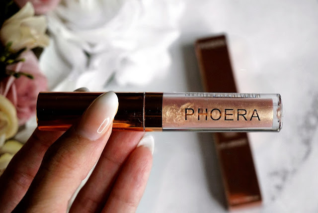 PHOERA Sheer Iridescent Lip Luminizer russell 309 review