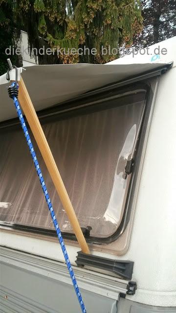 Sonnenschutz für den Wohnwagen DIY