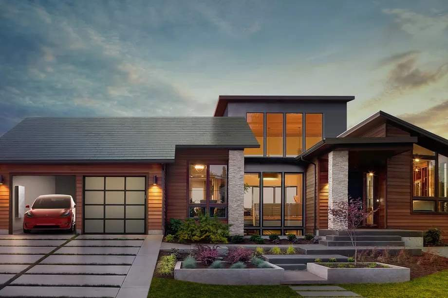 Tesla solar shingles are designed to mimic ordinary roofing sheets