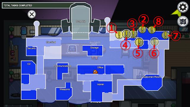 Laboratory(研究室)のタスク一覧マップ説明画像