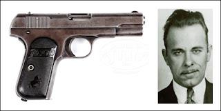 John Dillinger's Pistol