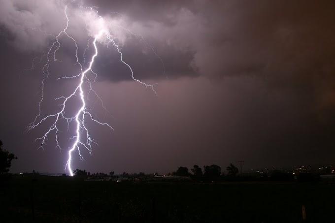 Mulher é atingida por um raio na Grande Curitiba